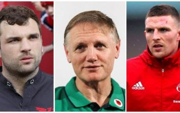 Joe Schmidt should continue to experiment with his selection this weekend