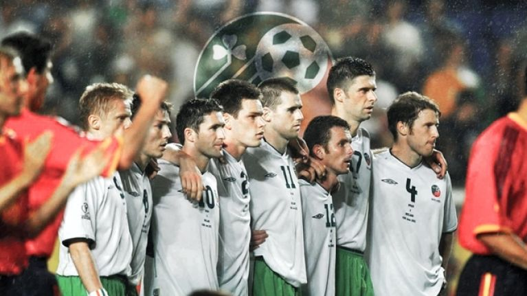 Ireland's last match at a World Cup showed what might have been for Irish football
