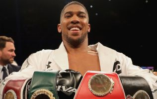 Terms agreed for Anthony Joshua unification fight