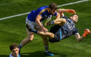 """It's a red card - Cluxton is off his feet and he has no protection"""