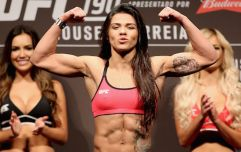 Claudia Gadelha accused of rubbing oil into her skin at UFC 225