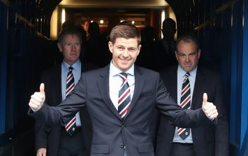 Steven Gerrard's latest Rangers signing appears to have been confirmed by a Premier League player