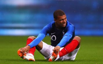 France given World Cup injury scare as Kylian Mbappe forced to leave training