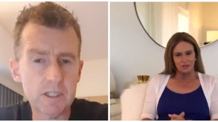 Nigel Owens and Caitlyn Jenner both lend support to Russia for World Cup