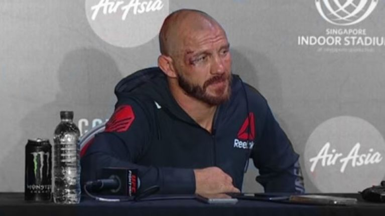 Donald Cerrone's comments following another tough loss are very concerning