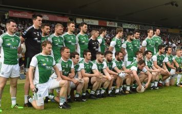 Arlene Foster makes good on her promise to cheer on Fermanagh at Ulster final