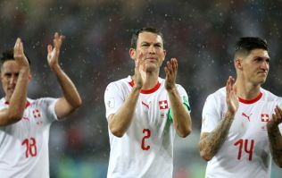 FIFA open disciplinary proceedings against Stephan Lichtsteiner after celebrations against Serbia