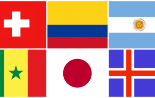 QUIZ: Can you name the international team from their flag?