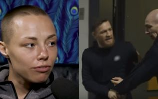 Conor McGregor's private message to Rose Namajunas wasn't received very well