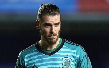 Spain are reportedly ready to drop David de Gea