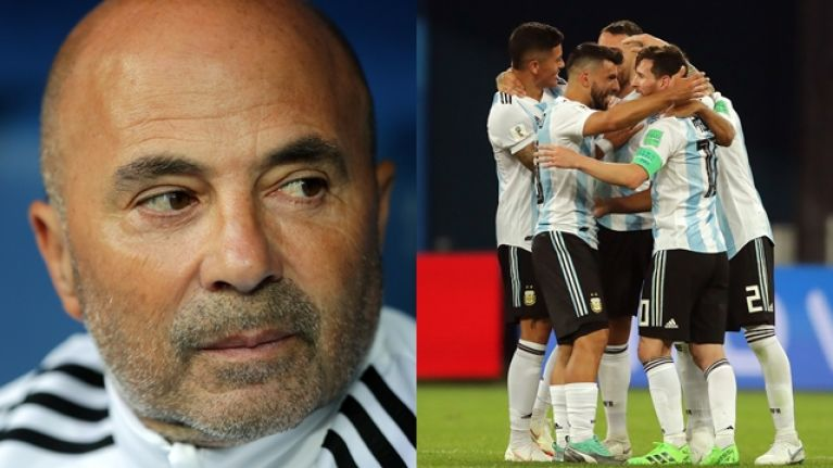What the Argentina manager did at the final whistle spoke volumes
