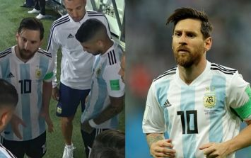 Marcos Rojo reveals what Lionel Messi said in his half-time team talk