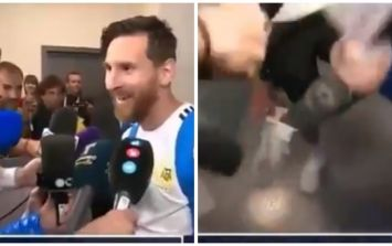 Lionel Messi reveals the good luck charm he wore for Nigeria match
