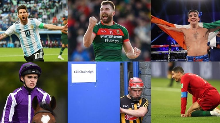 The televised sporting line-up this weekend is absolutely outrageous