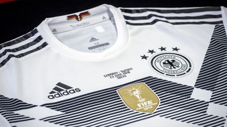 Adidas discounts Germany s World Cup kit on US site after group stage knock  out 7ee55cdfd08f9