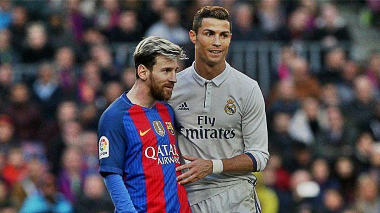Afbeeldingsresultaat voor CR7 Messi