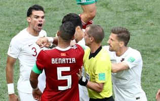 Morocco player makes huge claim about Pepe's first half conversation with referee
