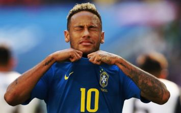 Neymar's comments to Dutch referee were not hard to miss