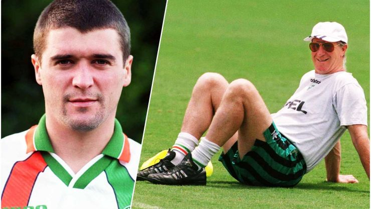 Roy Keane on the experience of being managed by Jack Charlton at USA 94