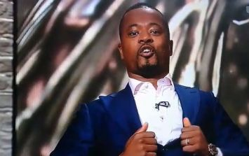 Patrice Evra's sign-off for ITV was something else
