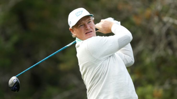 Ernie Els confirms hilarious story about booze-fuelled fight with fellow pro golfer on private jet