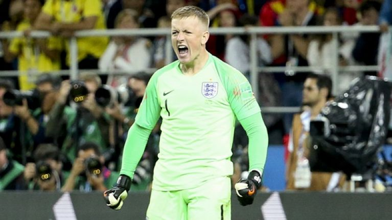 Jordan Pickford made one of the great World Cup saves and no one even noticed