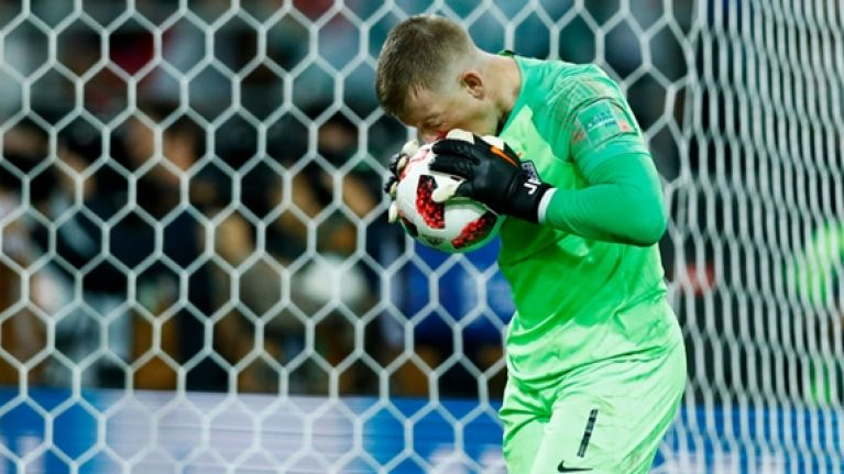Jordan Pickford switched water bottles ahead of penalty shootout for a very good reason