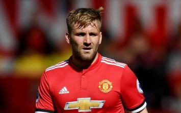New Luke Shaw training picture makes accusations of being overweight look stupid