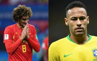 Belgium's win over Brazil was defined by two players