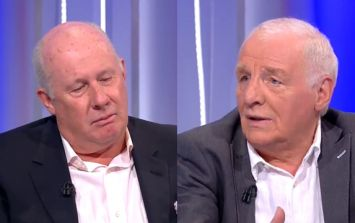 """Eamon Dunphy takes issue with """"begrudging"""" Liam Brady statement about England"""