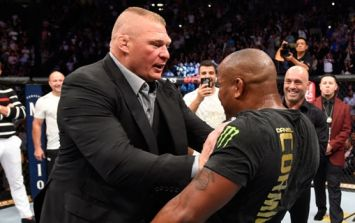 Dana White addresses Brock Lesnar's doping violation ahead of inevitable title shot