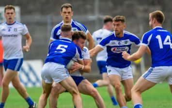 One brilliant display saved Laois from suffering a seriously heavy defeat to Monaghan