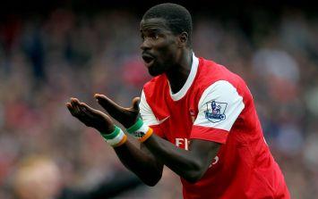 Former Arsenal defender Emmanuel Eboue arrested on suspicion of arson
