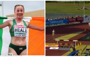 Sarah Healy sets new 1500m record to claim gold for Ireland