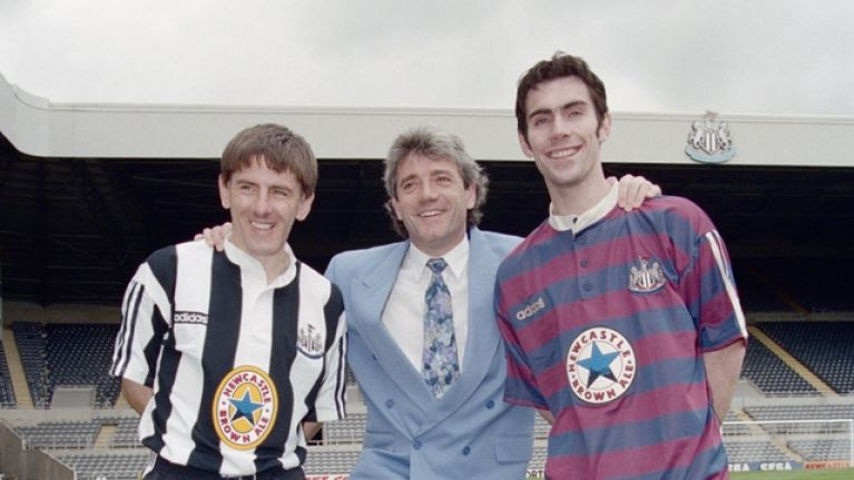 24a11fba1 Newcastle United s new kit is a throwback to a nineties classic ...