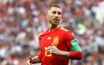 Sergio Ramos breaks record that summed up Spain's match against Russia