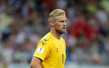 Kasper Schmeichel's reaction to penalty was farcically brilliant