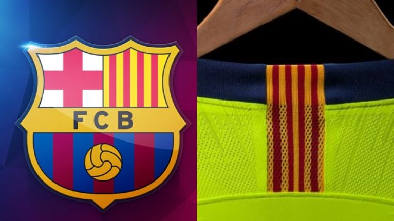 e2841c220 Barcelona s new away kit will make you not want to watch them play ...