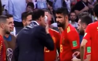 Diego Costa's reaction to missed penalty could make things very awkward for him
