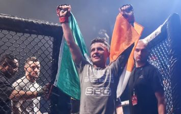 James Gallagher is one victory away from a world title shot