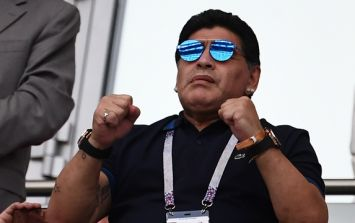 Maradona trolls England with picture of himself in Colombia shirt before World Cup game