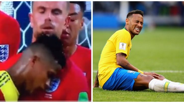 Jordan Henderson instantly compared to Neymar for 'headbutt' reaction