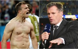 Jamie Carragher pulls out great line as Liverpool reveal Xherdan Shaqiri squad number