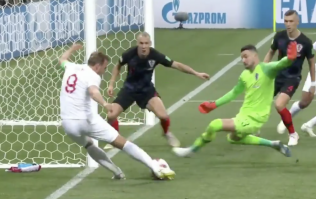 New footage emerges of Harry Kane's miss against Croatia