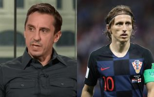Gary Neville has dismissed Luka Modric's comments about the English media