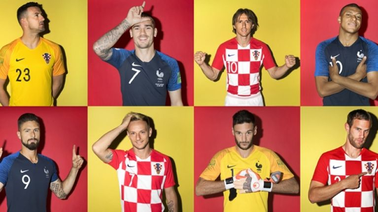 Croatia and France confirm teams for World Cup final