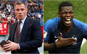 Jamie Carragher rips Graeme Souness after his pre-match Paul Pogba comments