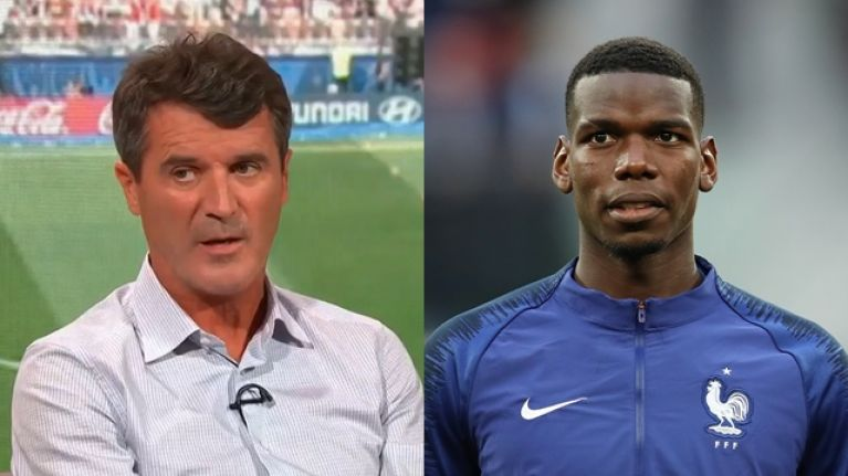 Roy Keane Sums Up Why Paul Pogba Has Played Better For France Than He Does For