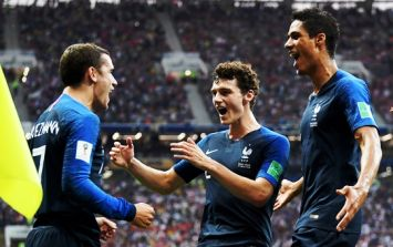 Fans are fuming over Antoine Griezmann's role in France's opening goal