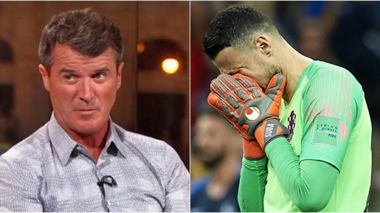 Roy Keane comment on Croatia's goalkeeper had the ITV panel in stitches